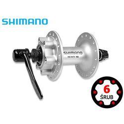 EHBM475BS Piasta przednia Shimano HB-M475 6 śrub 32H srebrna