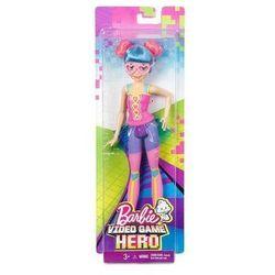 Lalka Barbie Video Game Przyjaciółka Pink Eyegla DTW06