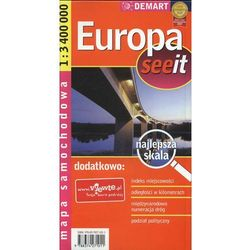 Europa 1:3 400 000 Mapa Samochodowa (opr. miękka)