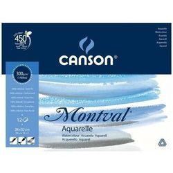 Blok do akwareli CANSON Mont-Torch 24x32 300g.