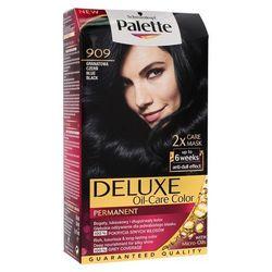 Palette Deluxe Farba do włosów Granatowa Czerń nr 909 1 op. - Schwarzkopf