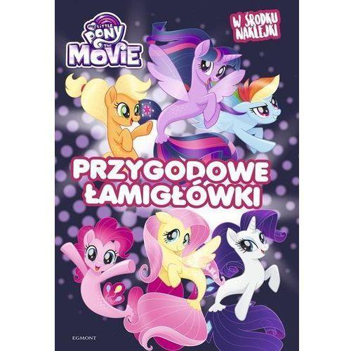 Książki dla dzieci, My Little Pony The Movie Przygodowe łamigłówki (opr. miękka)