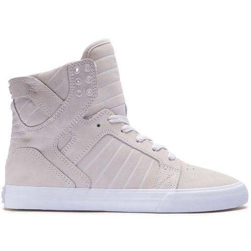 Damskie obuwie sportowe, buty SUPRA - Womens Skytop Cream-White (CRM) rozmiar: 36