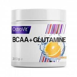 OSTROVIT BCAA+GLUTAMINE 200g ORANGE Aminokwasy