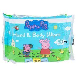 Peppa Pig Peppa Hand & Face Wipes chusteczki oczyszczające 90 szt dla dzieci