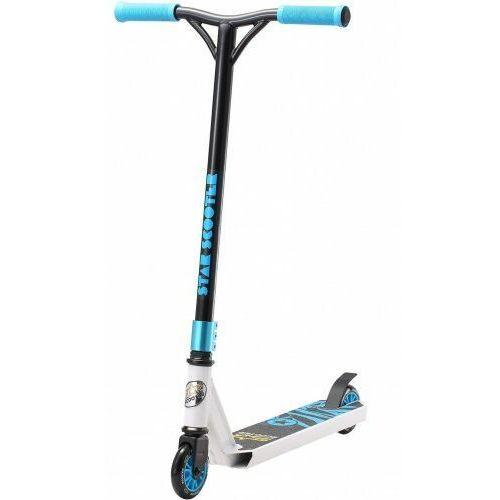 Hulajnogi, Hulajnoga wyczynowa BikeStar STUNT 100 biało- niebieska