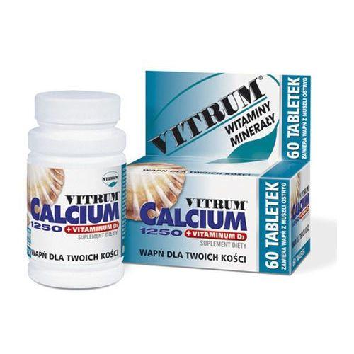 Leki na osteoporozę, Vitrum Calcium 1250 +vit D3 x 120 tabl.
