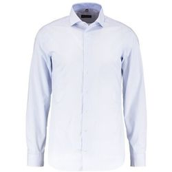 Eterna SLIM FIT HAI AUSPUTZ Koszula biznesowa hellblau