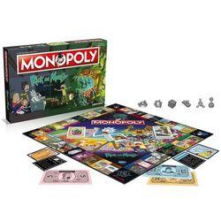Gra Monopoly Rick i Morty + druga gra w koszyku 10% TANIEJ!!