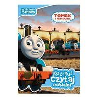 Książki dla dzieci, Tomek i przyjaciele. Koloruj, czytaj, naklejaj. Wyprawa po drewno (opr. miękka)