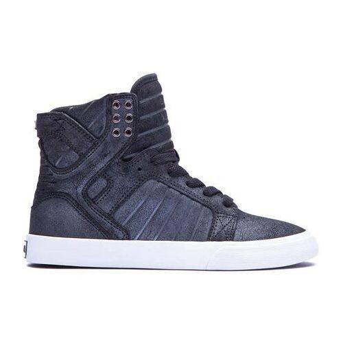 Damskie obuwie sportowe, buty SUPRA - Skytop Black/Metallic (BMT) rozmiar: 37.5