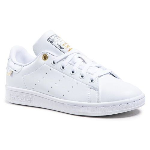Damskie obuwie sportowe, Buty adidas - Stan Smith FX5652 Ftwwht/Silvmt/Goldmt
