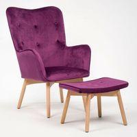 Fotele, FOTEL USZAK YK-8008 Z PODNÓŻKIEM KOLOR #31