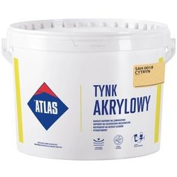 Tynk akrylowy Atlas SAH 0018 cytryn 25 kg