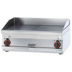 Płyta grillowa elektryczna gładka | 790x450mm | 9000W | 800x700x(H)280mm