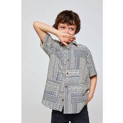 Mango Kids - Koszula dziecięca Glen 110-164 cm
