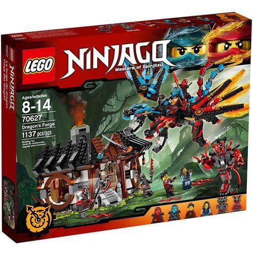 Klocki dla dzieci, LEGO NINJAGO, Kuźnia smoka, 70627