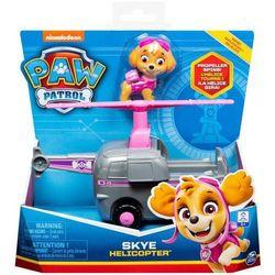 Figurka z pojazdem, skye psi patrol