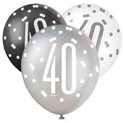 Balony lateksowe pastelowe 40 - 30 cm - 6 szt.