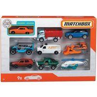Pozostałe samochody i pojazdy dla dzieci, Matchbox. Samochodziki 9-pak GBJ49