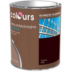 Farba antykorozyjna Colours ciemna brązowa 0,7 l