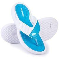 Pozostałe sporty wodne, Klapki basenowe SPOKEY Chillout Niebiesko-Biały (rozmiar 38)
