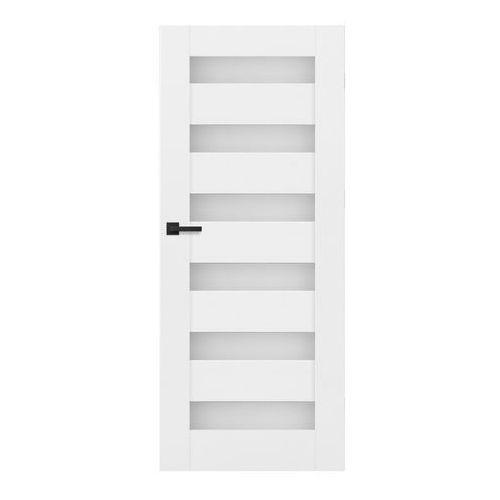 Drzwi wewnętrzne, Drzwi pokojowe Trame 70 prawe białe