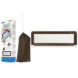 Barierka XL ochronna do łóżka dzieci 150x50cm REER - brązowy \ 150 Przecena 15% (-15%)