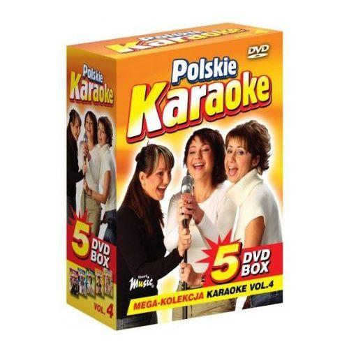 Piosenki weselne i muzyka biesiadna, Polskie Karaoke VOL. 4 - Mega Kolekcja Karaoke (5 płyt DVD)