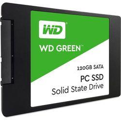 Dysk WESTERN DIGITAL SDD 120GB (WDS120G2G0A) + Zamów z DOSTAWĄ JUTRO! + DARMOWY TRANSPORT!