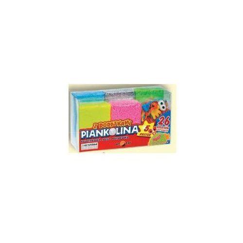 Kreatywne dla dzieci, Piankolina 5 kolorów + dodatki