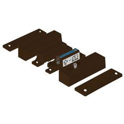 MC446-B Kontaktron magnetyczny plastikowy, brązowy Alarmtech