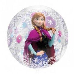 Balon foliowy przeźroczysty Frozen - Kraina Lodu - 38 x 40 cm - 1 szt.