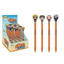 Brelok Funko Długopisy w ciemno - Pen Topper Naruto