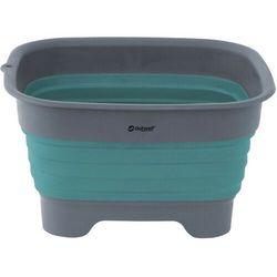 Outwell Collaps Miska do mycia z odpływem, zielony/szary 2021 Miski