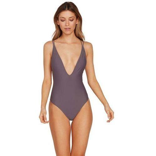 Stroje kąpielowe, strój kąpielowy VOLCOM - Simply Solid 1Pc Steel Purple (STL) rozmiar: L