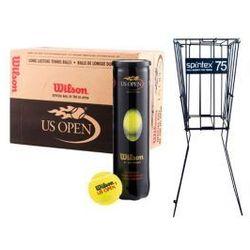Zestaw Wilson US Open + Spintex Kosz 75