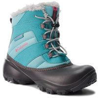 Kozaki dziecięce, Śniegowce COLUMBIA - Youth Rope Tow III Waterproof BY1323 Camellia/Rose 341