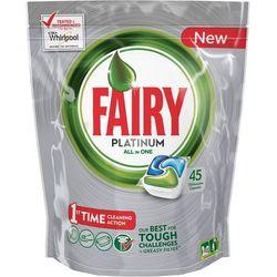 Tabletki do zmywarki FAIRY Platinum (45 sztuk) + Zamów z DOSTAWĄ W PONIEDZIAŁEK!