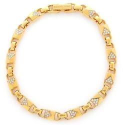 Bransoletka MICHAEL KORS - Med Link Bracelet MKC1004AN710 Gold Clear