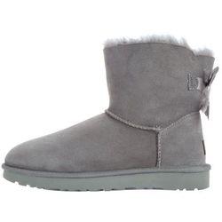 UGG Mini Bailey Bow II Snow boots Szary 36 Przy zakupie powyżej 150 zł darmowa dostawa.