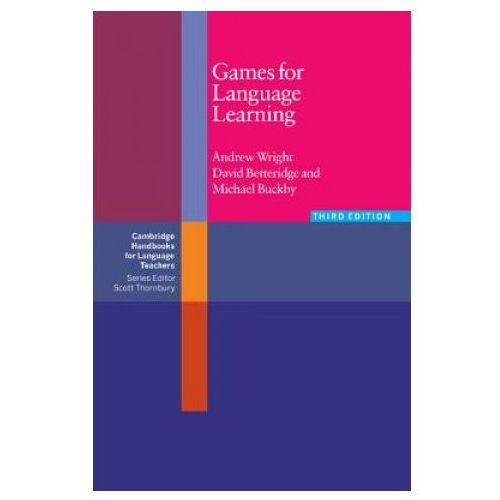 Książki do nauki języka, Games for Language Learning (opr. miękka)