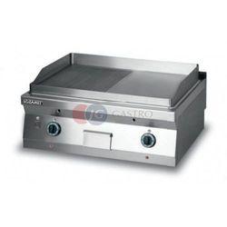 Grill płytowy gazowy - płyta 1/2 ryflowana + 1/2 gładka dwie strefy grzewcze Lozamet linia 900 L900.GPG900RG