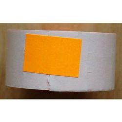 Rolka do metkownicy dwurzędowej - 2,6x1,6cm pomarańczowa prosta