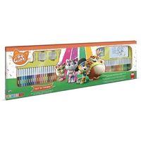 Pozostałe zabawki, Megazestaw do kolorowania 44 Koty (18986)