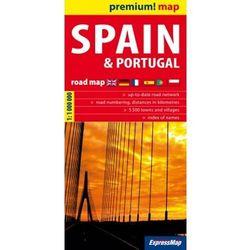 Spain and Portugal road map 1:1 000 000 - DODATKOWO 10% RABATU i WYSYŁKA 24H! (opr. miękka)