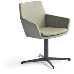 Krzesło konferencyjne FAIRVIEW, czarny, zielononiebieski