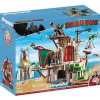 Klocki dla dzieci, Playmobil DRAGONS Dragons wyspa berk 9243 wyprzedaż