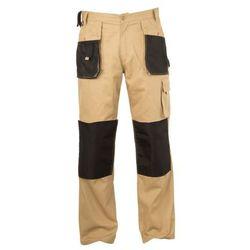 Spodnie Beżowe 100% Bawełna XL (56) Lahti Pro