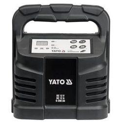 Prostownik elektroniczny 12v 12a 6-200ah / YT-8302 / YATO - ZYSKAJ RABAT 30 ZŁ